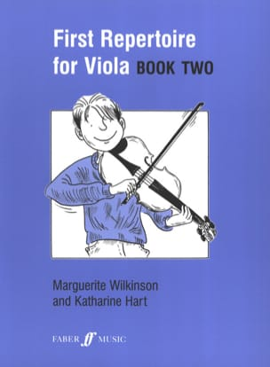 Wilkinson Marguerite / Hart Katherine - First repertoire for Viola - Book 2 - Partition - di-arezzo.fr