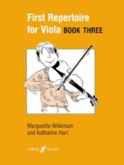 Wilkinson Marguerite / Hart Katherine - First repertoire for Viola - Book 3 - Sheet Music - di-arezzo.co.uk