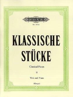Klassische Stücke, Bd. 2 - Viola - Partition - laflutedepan.com