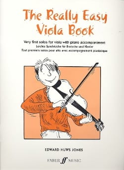 The really easy Viola book Jones Edward Huws Partition laflutedepan