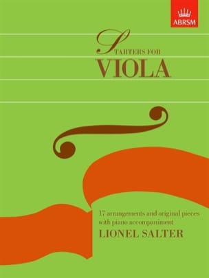 Lionel Salter - Starters For Viola - Alto et Piano - Partition - di-arezzo.fr