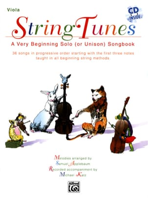 Samuel Applebaum - String Tunes - Viola - Sheet Music - di-arezzo.co.uk
