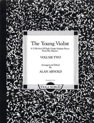 Alan H Arnold - The young violist – Volume 2 - Partition - di-arezzo.fr