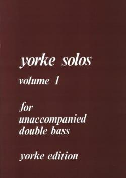 Yorke Solos Volume 1 - Sheet Music - di-arezzo.co.uk