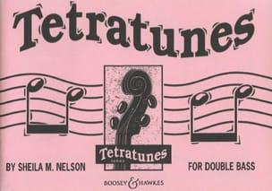 Tetratunes - String bass Sheila M. Nelson Partition laflutedepan