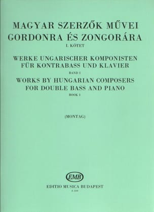 Lajos Montag - Works by hungarian composers - Volume 1 - Sheet Music - di-arezzo.co.uk