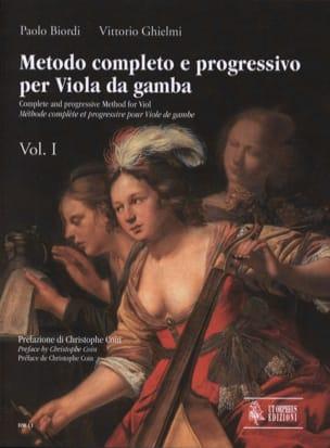 Biordi Paolo / Ghielmi Vittorio - Metodo Completo e Progressivo - Volume 1 - Partition - di-arezzo.fr