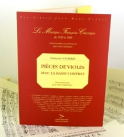 François Couperin - Pieces of viols - Sheet Music - di-arezzo.com