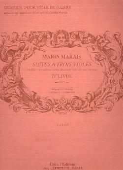 Marin Marais - Following three viols - Sheet Music - di-arezzo.com