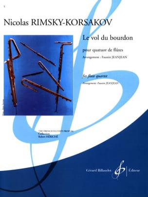 Nicolaï Rimsky-Korsakov - Le Vol du Bourdon - 4 Flûtes - Partition - di-arezzo.fr