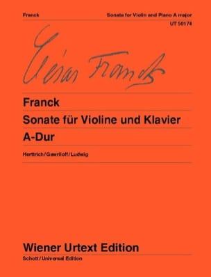 César Franck - Sonate A-Dur - Violine - Partition - di-arezzo.fr