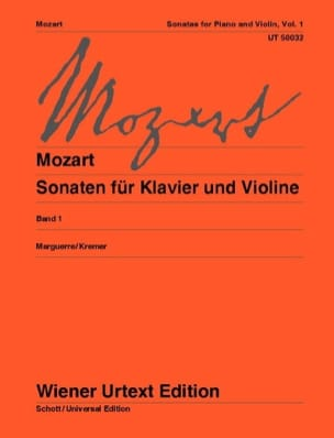 MOZART - Sonatas for Violin and Piano Volume 1 - Sheet Music - di-arezzo.co.uk