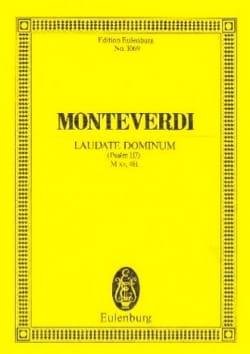 Laudate Dominum Claudio Monteverdi Partition laflutedepan