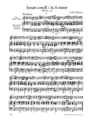 Carl Philipp Emanuel Bach - Sonaten - Bd. 2 - Flöte u. Bc - Partition - di-arezzo.fr