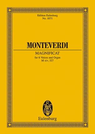 Magnificat Claudio Monteverdi Partition Petit format - laflutedepan