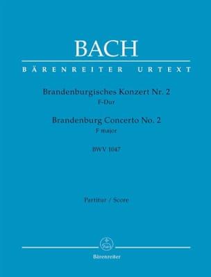 Brandenburgisches Konzert Nr. 2 F-dur BWV 1047 - laflutedepan.com