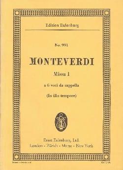 Messe Nr. 1 C-Dur - Claudio Monteverdi - Partition - laflutedepan.com