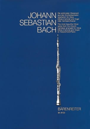 BACH - The most beautiful oboe solos of church cantatas. - Sheet Music - di-arezzo.com
