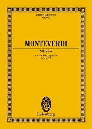 Messe Nr. 2 F-Dur Claudio Monteverdi Partition laflutedepan