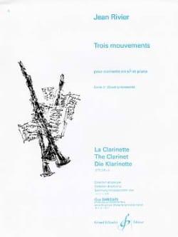 Jean Rivier - Tres movimientos - Volumen 2 - Partitura - di-arezzo.es