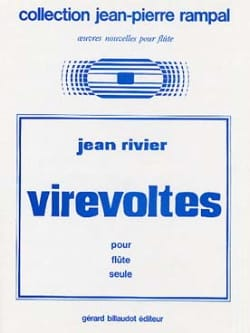 Jean Rivier - Virevoltes - Sheet Music - di-arezzo.co.uk