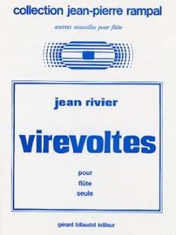 Virevoltes - Jean Rivier - Partition - laflutedepan.com