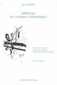 Lucie Robert - Harmonic analysis approach - Sheet Music - di-arezzo.com