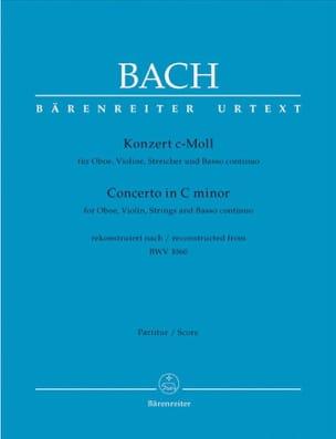 BACH - Konzert c-moll für Oboe, Violine nach BWV 1060 - Partition - di-arezzo.fr