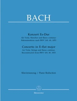 BACH - Violin Concerto in E Flat Major - Sheet Music - di-arezzo.com