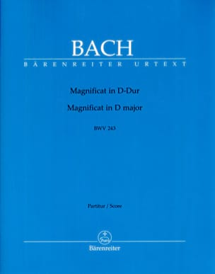 BACH - Magnificat BWV 243 D-Dur - Sheet Music - di-arezzo.co.uk