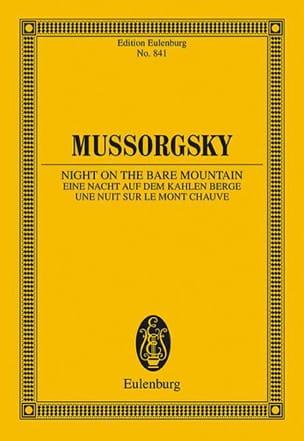 Modeste Moussorgski - Eine Nacht auf dem Kahlen Berge - Sheet Music - di-arezzo.co.uk