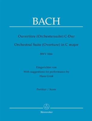 Ouvertüre (Orchestersuite) C-Dur BWV 1066 - Partitur - laflutedepan.com