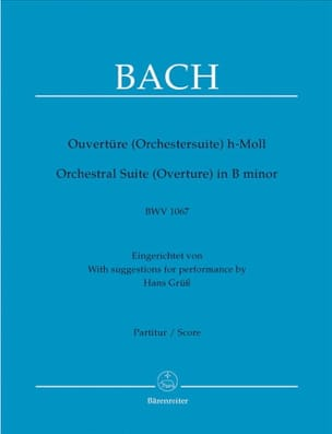 BACH - Opening of the suite in Si BWV 1067 - Driver - Sheet Music - di-arezzo.co.uk