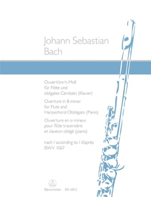 BACH - Opening in B minor BWV 1067 - Sheet Music - di-arezzo.co.uk