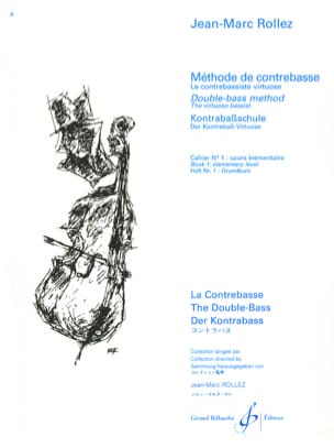 Jean-Marc Rollez - Double bass method Volume 1 - Sheet Music - di-arezzo.com