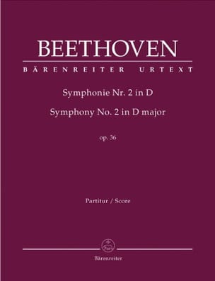 BEETHOVEN - Symphony Nr. 2 D-Dur op. 36 - Driver - Sheet Music - di-arezzo.co.uk