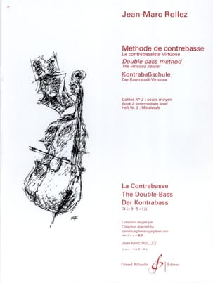 Jean-Marc Rollez - Double bass method Volume 2 - Partition - di-arezzo.com