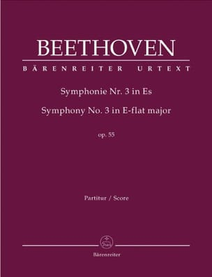 BEETHOVEN - Symphony Nr. 3 Eroica Es-Dur op. 55 - Partitur - Sheet Music - di-arezzo.co.uk