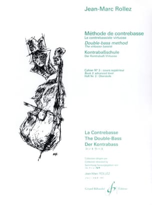 Jean-Marc Rollez - Double bass method Volume 3 - Sheet Music - di-arezzo.co.uk