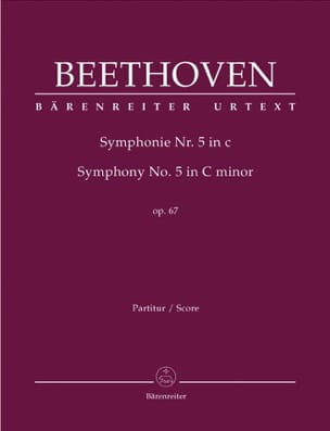 BEETHOVEN - Symphony Nr. 5 c-moll op. 67 - Partitur - Sheet Music - di-arezzo.co.uk