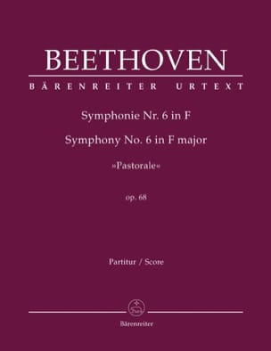 BEETHOVEN - Symphony No. 6 Pastoral F-Dur op. 68 - Partitur - Sheet Music - di-arezzo.co.uk