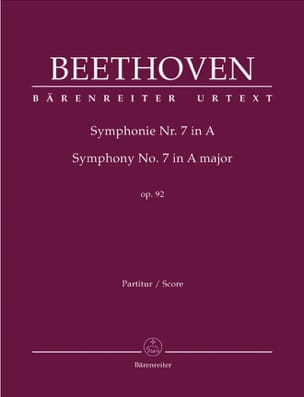 BEETHOVEN - Symphony No. 7 A-Dur op. 92 - Sheet Music - di-arezzo.co.uk