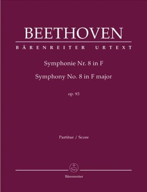 Ludwig van Beethoven - Symphonie Nr. 8 F-Dur op. 93 - conducteur - Partition - di-arezzo.fr