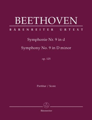 BEETHOVEN - Symphonie N° 9 D-Moll Op. 125 - conducteur - Partition - di-arezzo.fr