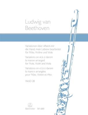 Variationen über Reich mir die Hand, mein Leben aus Mozarts Don Giovanni laflutedepan