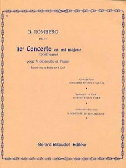 Concerto n° 10 en mi majeur op. 75 - laflutedepan.com