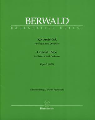 Franz Berwald - Konzertstück op. 2 –Fagott Klavier - Partition - di-arezzo.fr