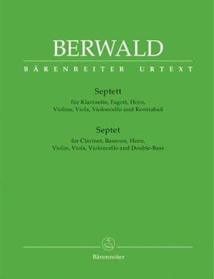 Franz Berwald - Septett - Klarinette, Fagott, Horn, Violine, Viola, Violoncello Und Kontrabaß. - Partition - di-arezzo.ch