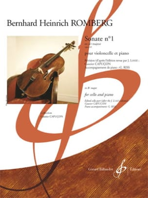 Bernhard Heinrich Romberg - Sonata No. 1 in B flat maj. op. 43 - Sheet Music - di-arezzo.co.uk