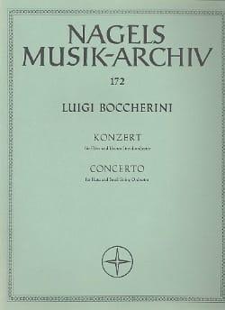 Concerto pour flûte – Partitur - Luigi Boccherini - laflutedepan.com